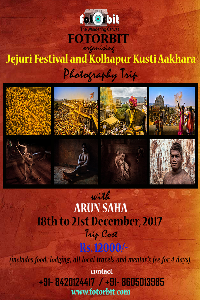 JEJURI FESTIVAL AND KOLHAPUR KUSHTI AAKHARA PHOTO TOUR, DECEMBER 2017 (BOOKING GOING ON)