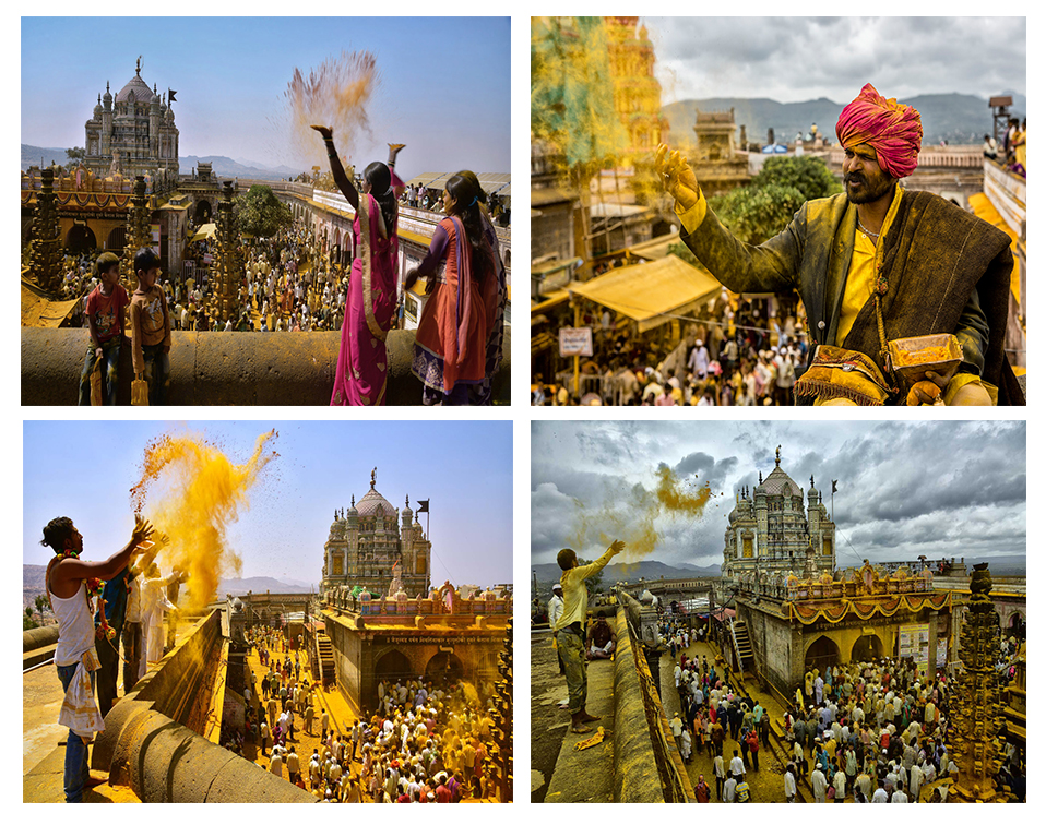 BHANDARA-THE GOLDEN FESTIVAL OF JEJURI (MAHARASHTRA, INDIA)
