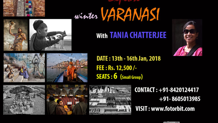 VARANASI WINTER PHOTO TOUR , JANUARY 2018(SUCCESSFULLY DONE)