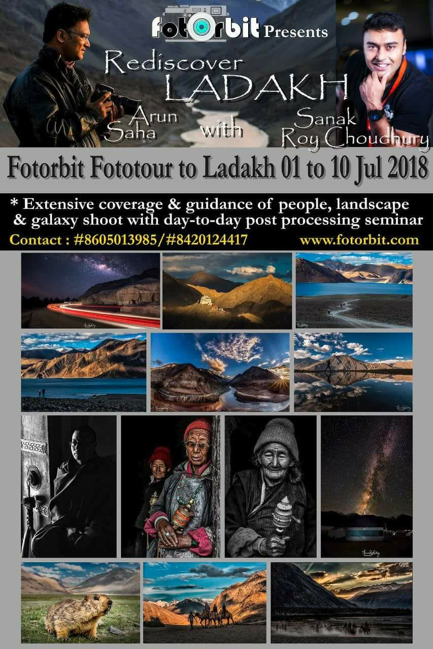 LADAKH : A Journey of Lifetime, July 2018(SOLD OUT)