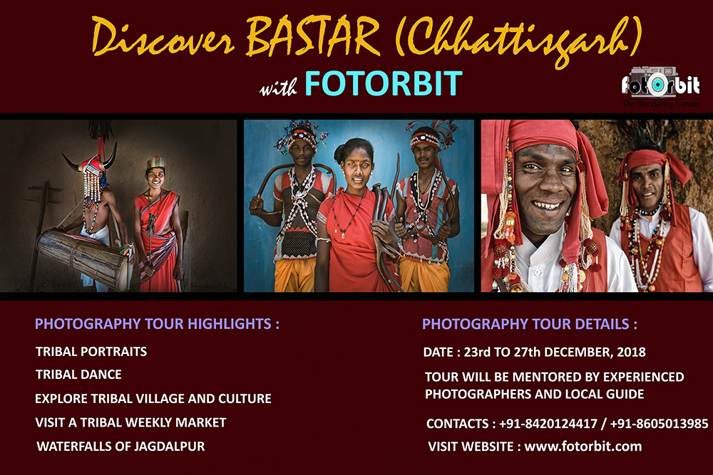 DISCOVER BASTAR ( CHATTISGARH), December 2018 (BOOKING GOING ON )