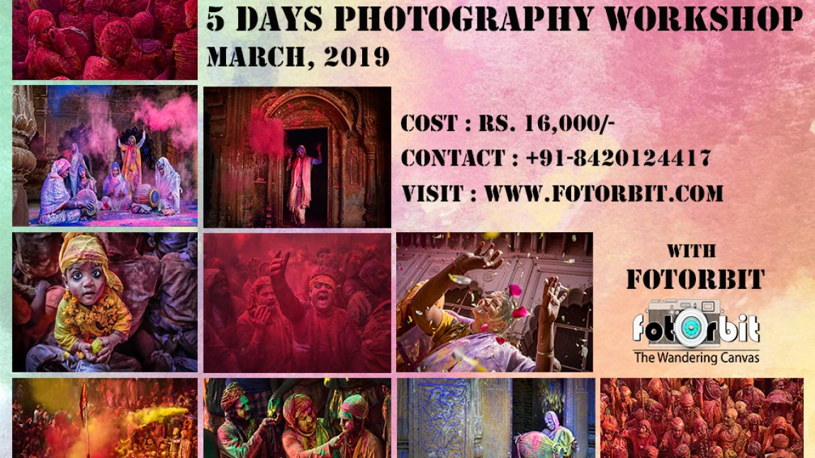 HOLI CELEBRATION IN BARSANA, NANDGAON AND VRINDAVAN ( BOOKING CLOSED )