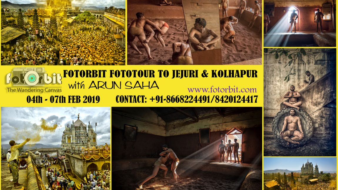 FOTORBIT FOTOTOUR TO JEJURI & KOLHAPUR : 04-07 FEB 2019 (BOOKING ON)