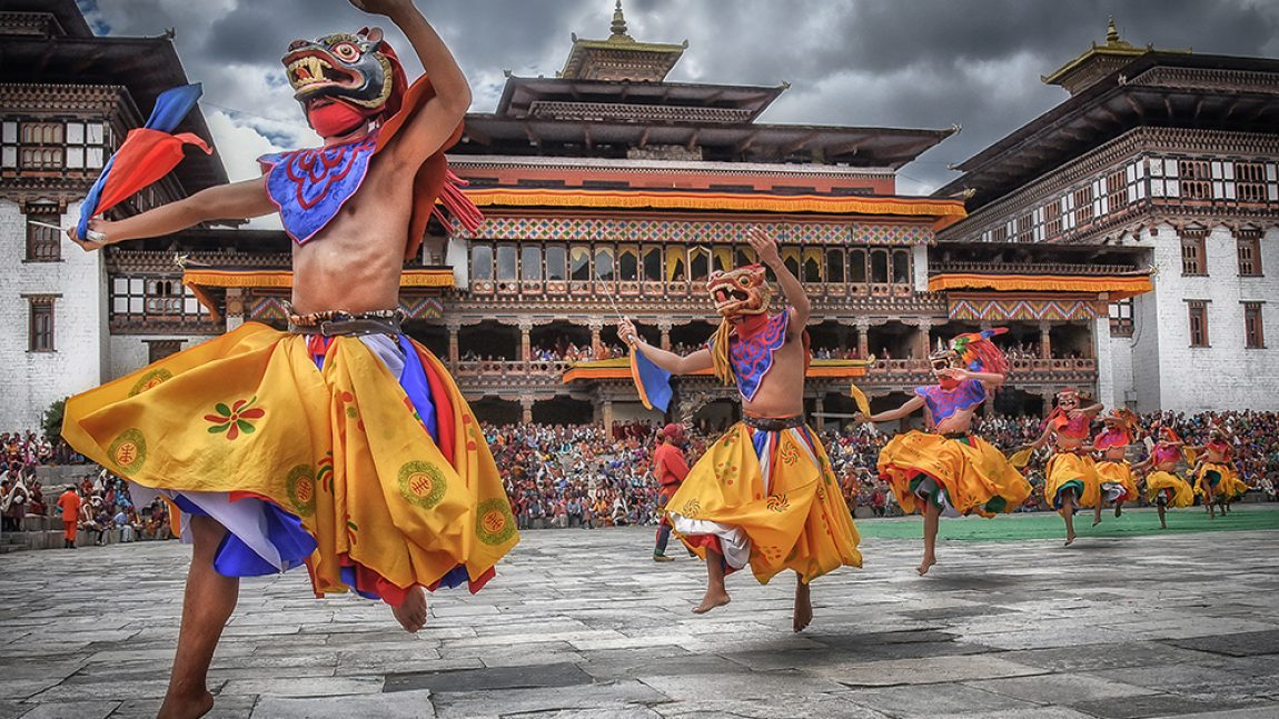Essence of Thimphu Tshechu of Bhutan