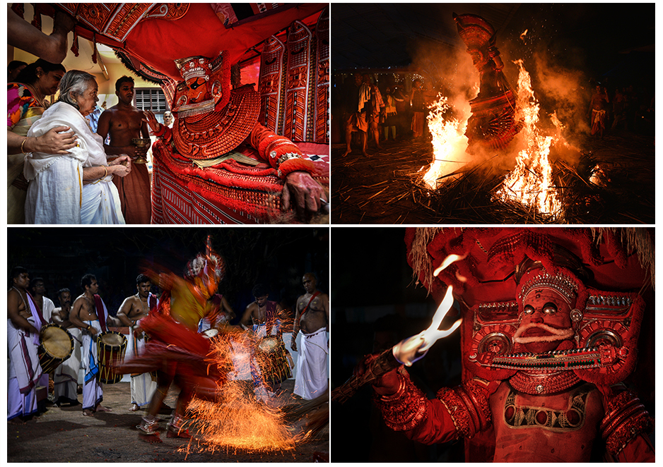 Theyyam and Kalaripayattu Photography Tour , (SUCCESSFULLY DONE)
