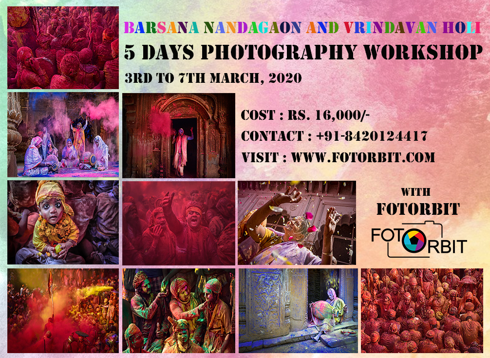 BARSANA NANDAGAON HOLI PHOTOGRAPHY TOUR 2020 (SUCCESSFULLY DONE)