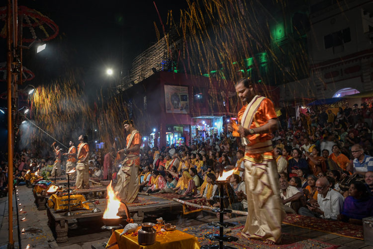 Evening Aarti at Search Results Web results Dashashwamedh Ghat